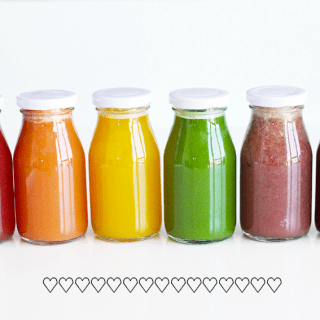 Cold Pressed Rainbow Juice | CrazyVeganKitchen.com