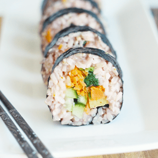 Brown Rice Kimbap!
