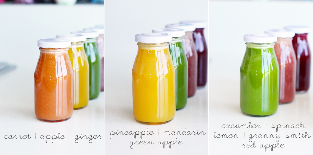 Slow Pressed Juice Recipes : Recipe for Cold Pressed Rainbow Juices + Juicer Reviews!