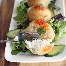Asian Rice Balls | MyWIfeMakes.com