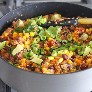One Pan Mexican Quinoa