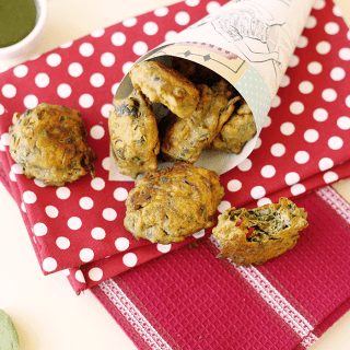 Indian Spinach Fritters