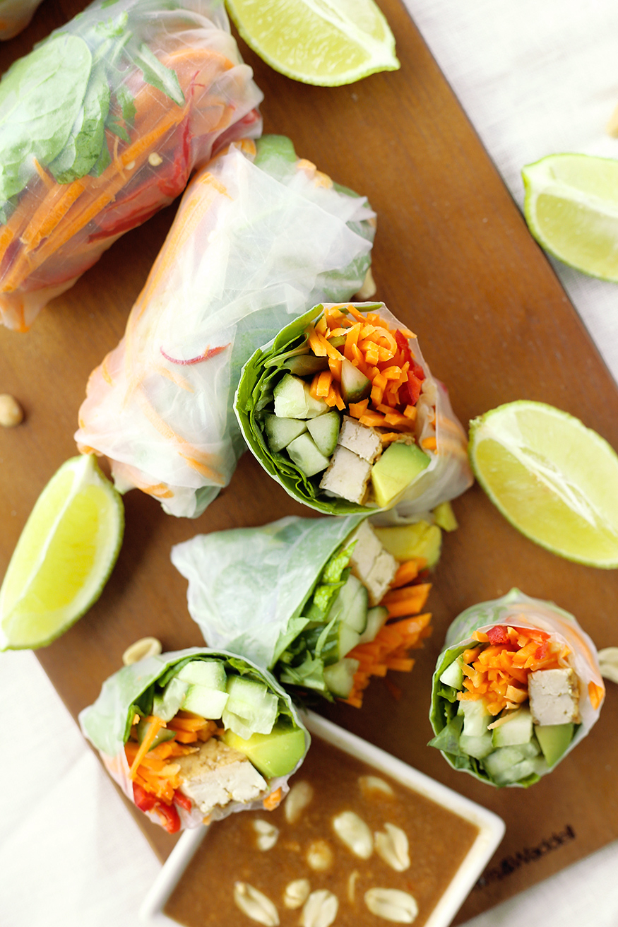 party wraps vegetarisch