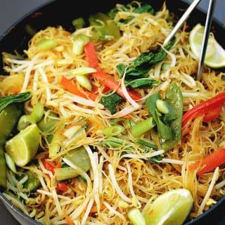 One-Pan Singapore Noodles