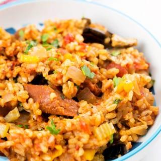 Easy Cajun Jambalaya (Vegan)
