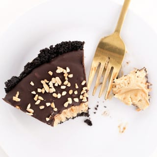 Vegan Oreo Peanut Butter Pie