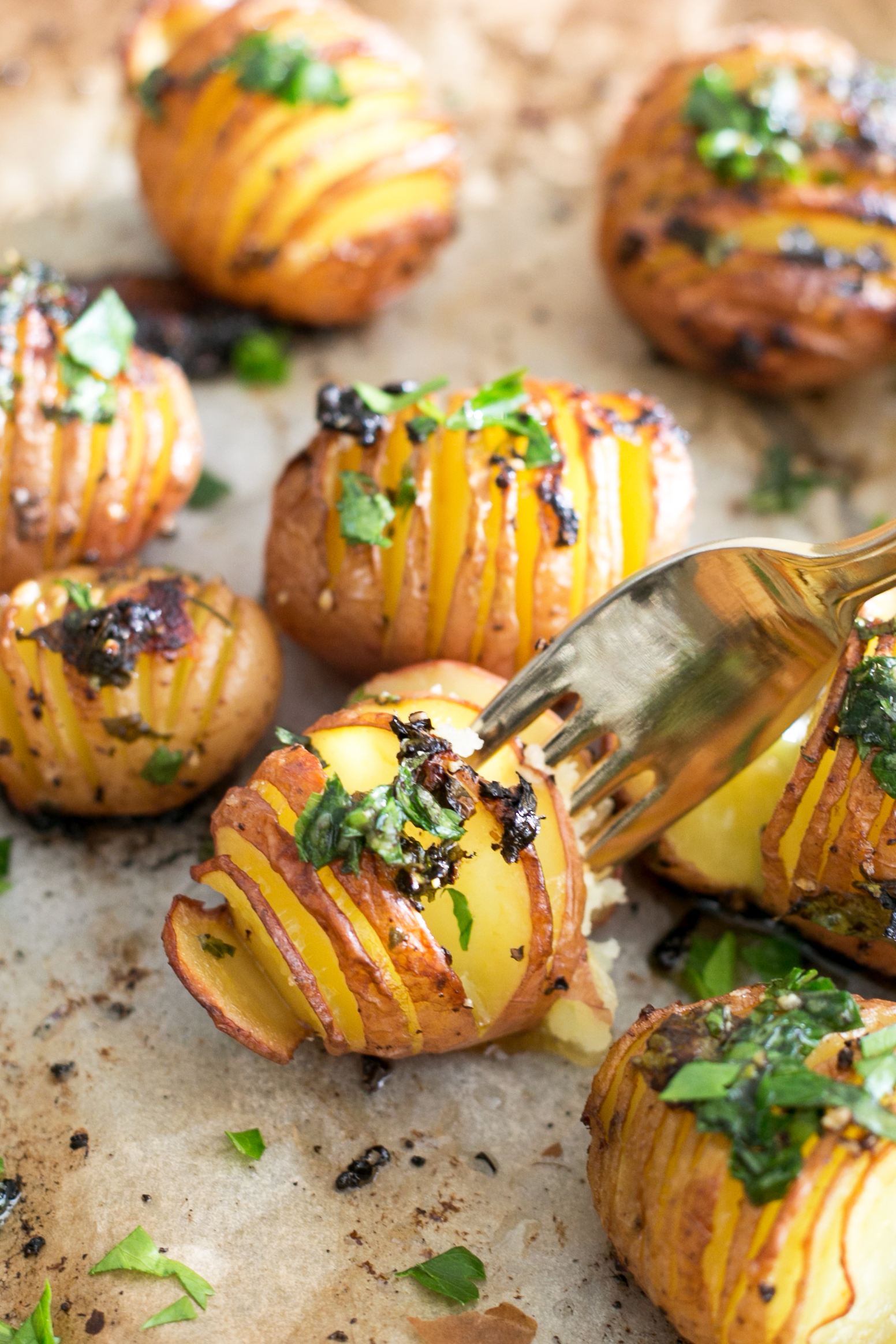 Vegan lemon garlic herb roasted potatoes crazy vegan kitchen vegan lemon garlic herb roasted potatoes 6 forumfinder Choice Image