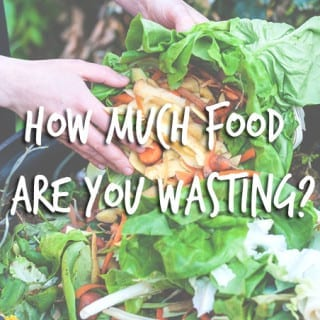 How Much Food Are You Throwing Out + Tips On Preventing Food Waste