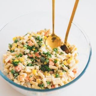 Creamy Vegan Pasta Salad That Isn't Full Of Trash