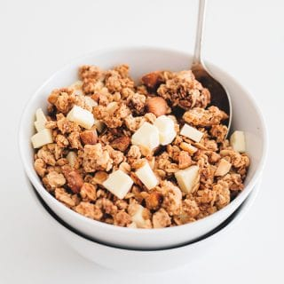 Chai Spiced Vegan Granola (Easy As F*** Recipe)