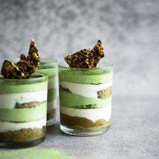 Vegan Matcha Tiramisu (Green Tea Tiramisu)