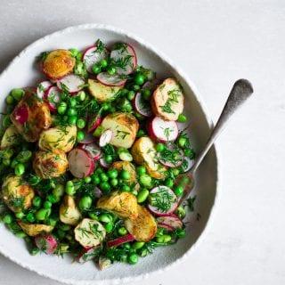 Vegan Spring Potato Salad