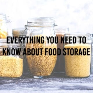 Everything You Need To Know About Food Storage