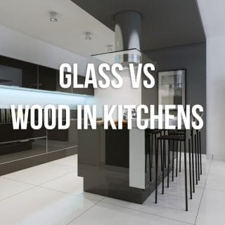 Can the New Trend of Glass Cabinets Actually Replace the  Evergreen Wooden Cabinets?